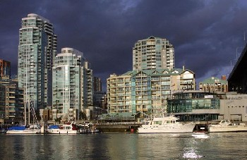 The Vancouver Harbor