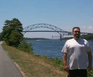 Me by The Bourne Bridge.