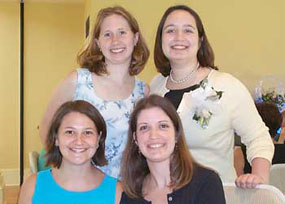 Vicki, Emily, Jen and Erin
