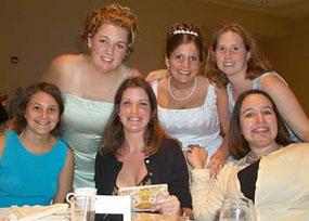 The SU/ZTA Crew: (back) Me, Leis & Vicki (front) Jen, Erin & Emily